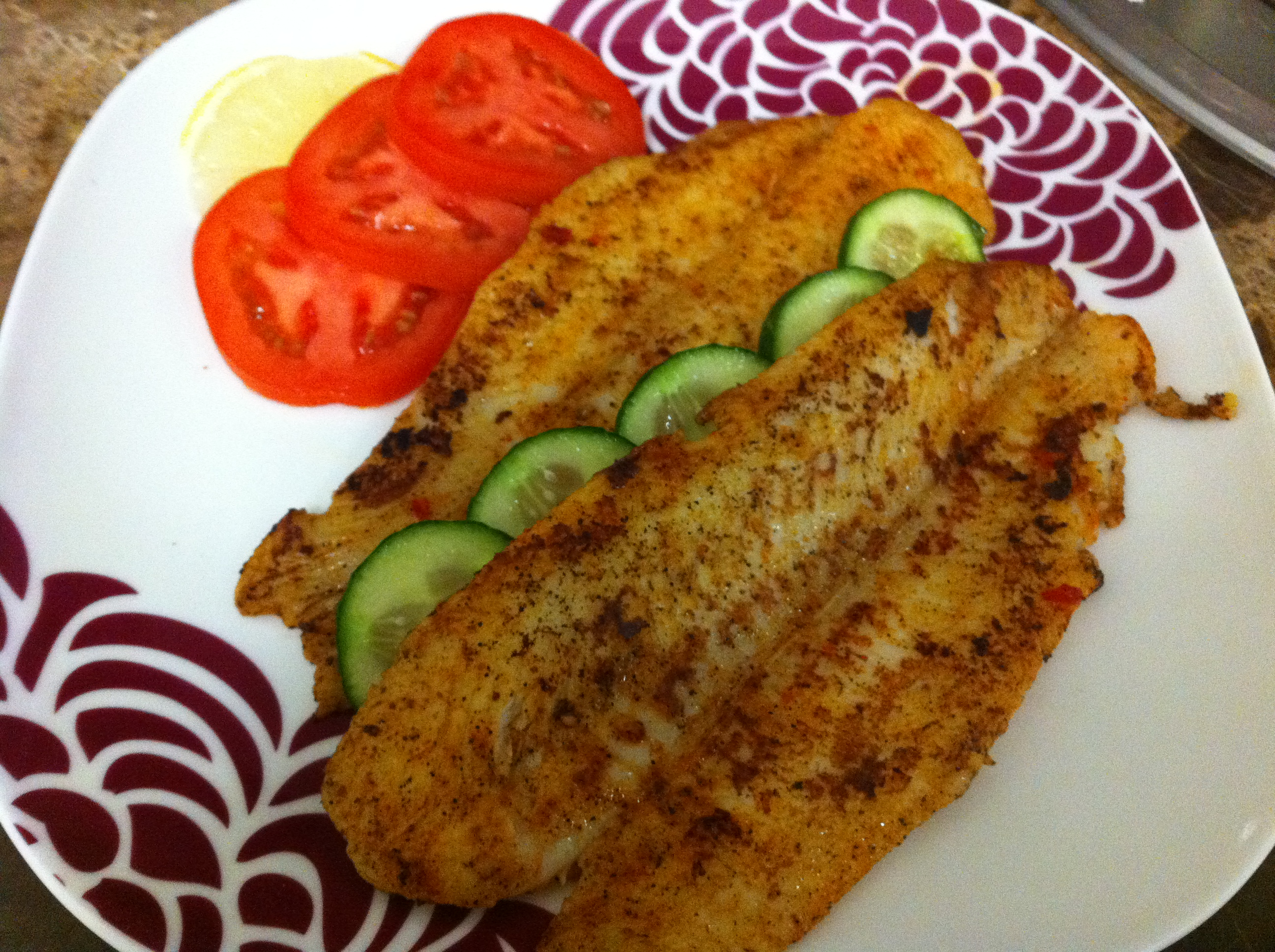 Pan Grilled Basa Fillets Ayesha S Kitchen