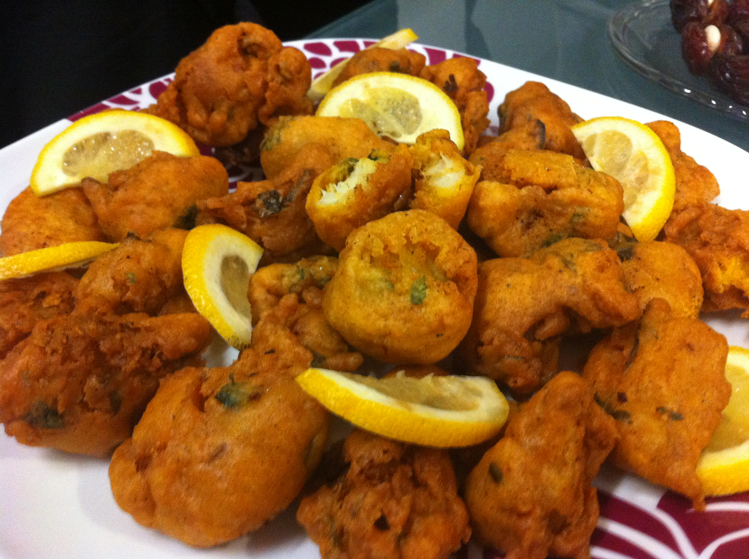 Pakora ayesha 39 s kitchen for How to fry fish with egg and flour